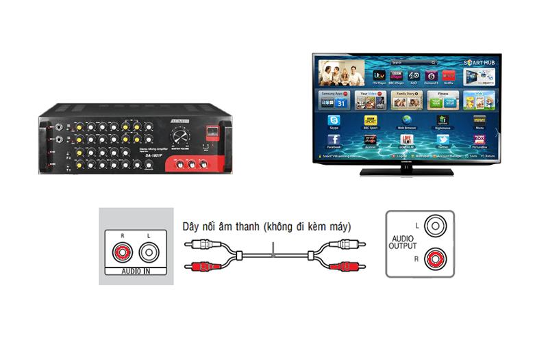 Cách kết nối Smart Tivi với Amply đúng cách và đơn giản