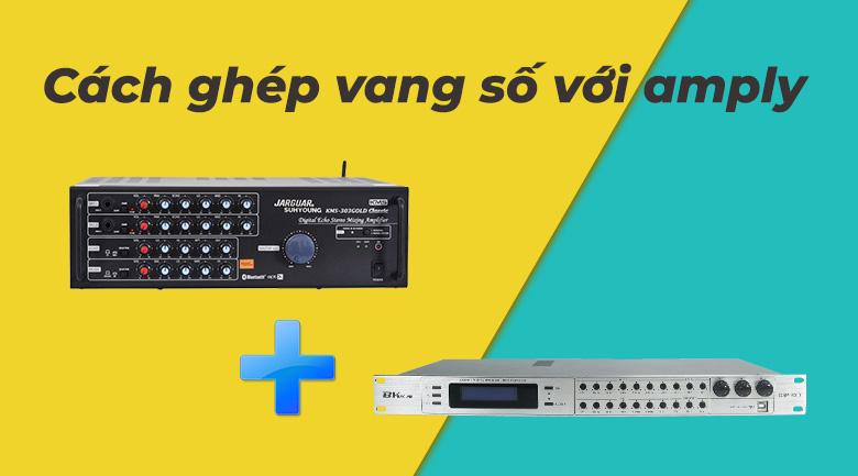 Hướng dẫn kết nối vang cơ hoặc vang số với amply
