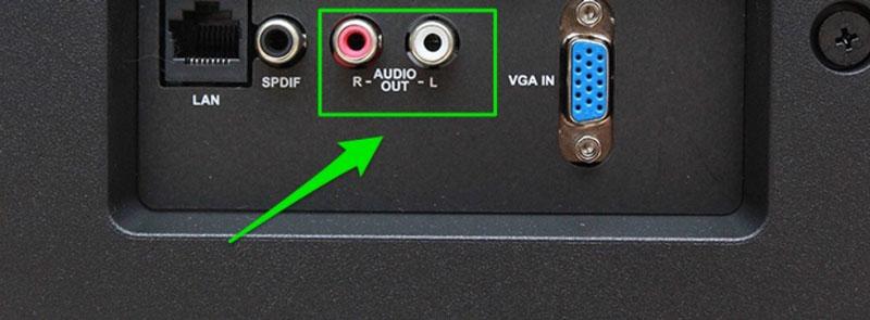 Kết nối Smart Tivi với Amply bằng cặp dây bông sen
