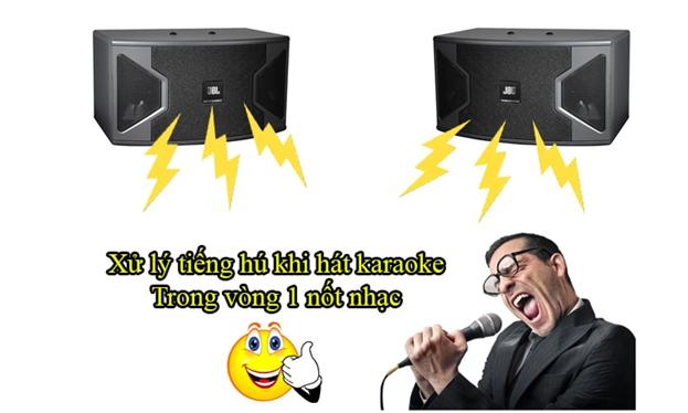 Cách chống hú cho dàn karaoke gia đình hiệu quả