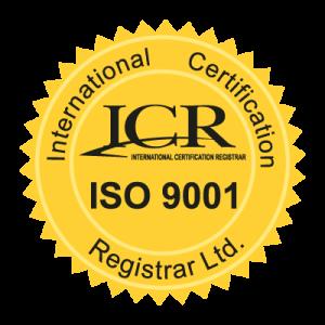 Tem ICR chứng nhận chất lượng ISO 9001