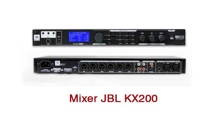 Thông số cài đặt Mixer Karaoke JBL KX200 cơ bản