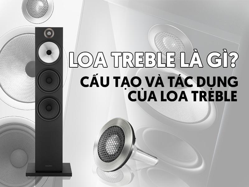 Loa Treble có công dụng gì?