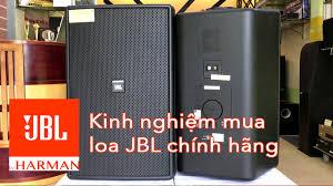 Cách nhận biết loa JBL chính hãng