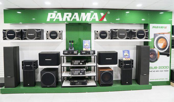 Các thành tựu của hãng loa Paramax