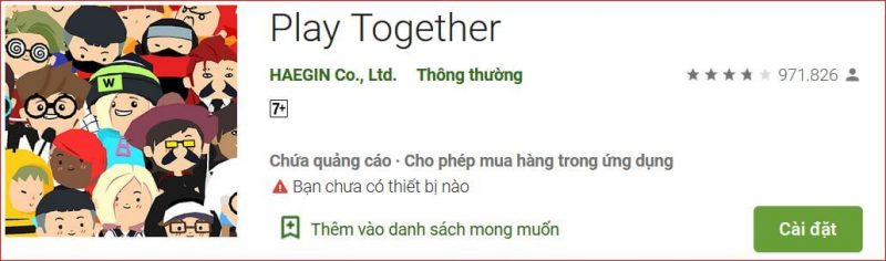 Tải Game Play Together cho Android
