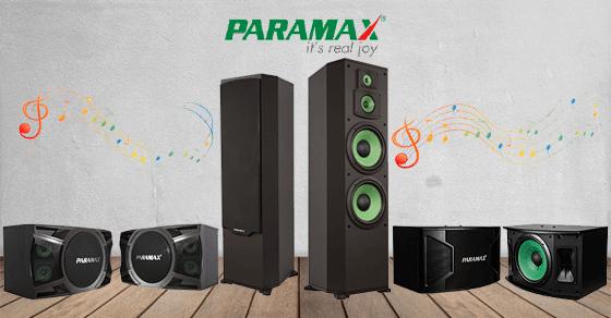 Công nghệ, tính năng nổi bật của loa Paramax
