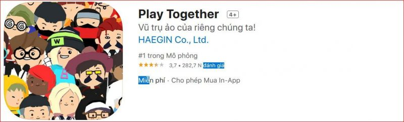 Tải Game Play Together cho IOS