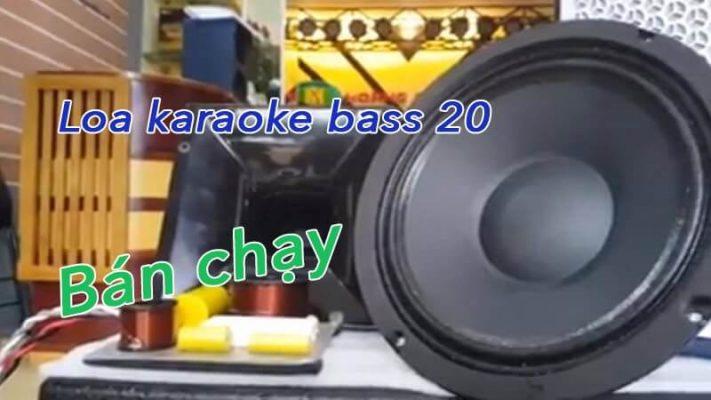 Loa bass 20 công suất bao nhiêu